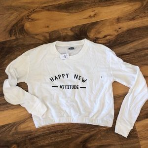 Aerie cropped sweatshirt Size small NWT